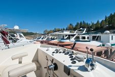 Free Marina And House Boat Stock Photos - 18532863