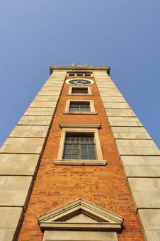 Old Clock Tower, Tsim Sha Tsui, Hong Kong Stock Photo
