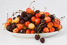 Free Sweet Cherries Stock Image - 18533261