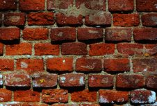 Free Wall Of Brick Royalty Free Stock Images - 18533329