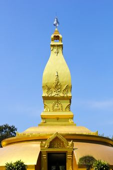 Free Golden Pagoda Stock Photography - 18533692