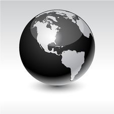 Earth - America. Royalty Free Stock Photography