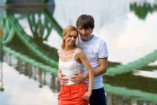 Free Bridge Lovers Stock Photo - 18534020
