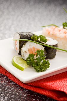 Free Sushi And Sashimi Stock Photo - 18534590