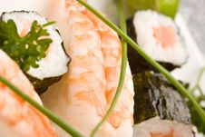 Free Sushi And Sashimi Royalty Free Stock Photography - 18534757