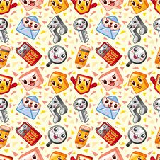Free Seamless Web Pattern Royalty Free Stock Photography - 18534807