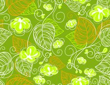 Free Seamless Floral Pattern Stock Photography - 18534832