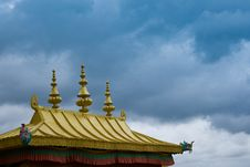 Free Monastery Roof. Royalty Free Stock Photos - 18536218