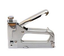 Free Metal Tool A Stapler Royalty Free Stock Photo - 18536485