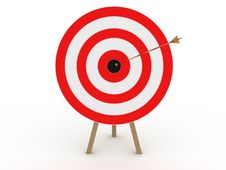 Free The Target Was A Gold Boom №1 Stock Image - 18537681