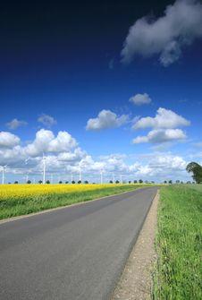 Free Wind Farm Stock Image - 18538391