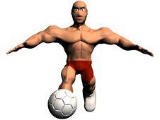 Free Soccer Royalty Free Stock Photo - 18539475