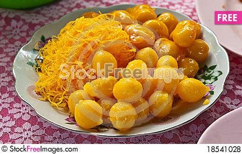 Thai style sweet desert Stock Photo