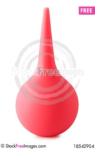 Rubber Pear Stock Photo