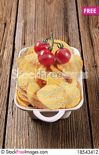 Corn chips Stock Photo