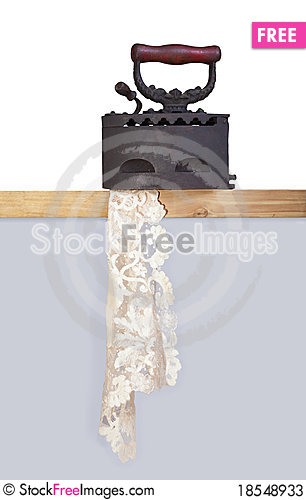 Old iron Stock Photo