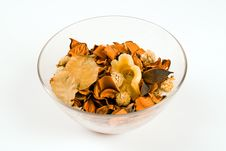 Free Bowl Of Brown Potpourri Royalty Free Stock Image - 18541156