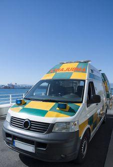 Free The Gibraltar Ambulance Service Stock Image - 18542461