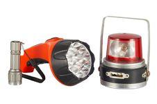 Free Three Flashlights Stock Image - 18542951