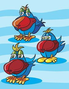 Free Pelican Cartoon Stock Photos - 18543373