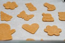 Free Gingerbread Shapes Stock Image - 18543861