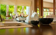 Free Kitchenware On The Table Stock Photography - 18544152
