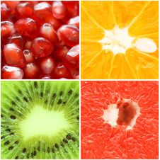 Free Various Fruit Close-up Royalty Free Stock Photography - 18544227