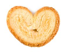 Cookies Heart Stock Photography