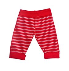 Free Bright Red Baby Trousers Isolated Royalty Free Stock Photography - 18546027