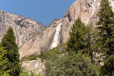 Free Yosemite Waterfall Stock Image - 18546601