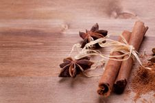 Free Cinnamon And Anis Royalty Free Stock Photos - 18546938