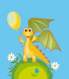Free Merry Yellow Draco Stock Photos - 18547053