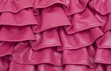Free Pink Ruffle Texture Background Royalty Free Stock Photos - 18547458