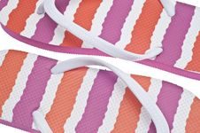 Free Flip Flop Sandal Background Stock Photography - 18547792