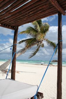 Free Cancun Bay Beach In Mexico Stock Image - 18547901