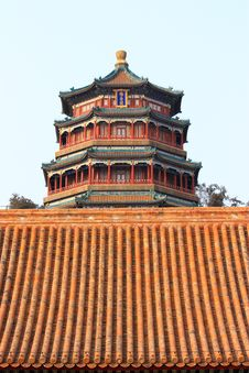 Free The Foxiangge Of Summer Palace Stock Images - 18549874