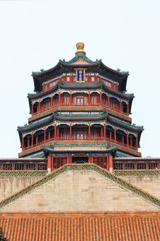 Free The Foxiangge Of Summer Palace Royalty Free Stock Images - 18549899