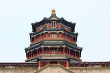 Free The Foxiangge Of Summer Palace Royalty Free Stock Photo - 18549905