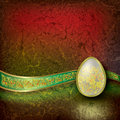 Free Abstract Illustration With Easter Egg Stock Images - 18552414