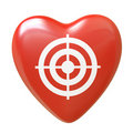 Free Heart Collection - Push Here Stock Photography - 18559732