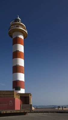 Free El Cotillo Lighthouse Stock Images - 18550874