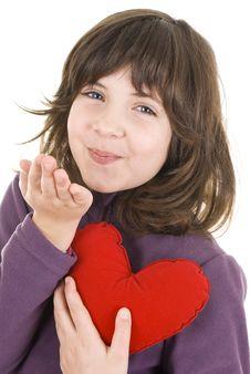 Free Little Girl Stock Photo - 18552030