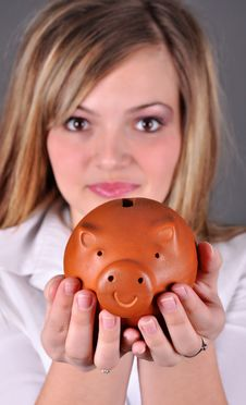 Smiling Female Stock Image