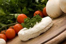 Free Ricotta Cheese Stock Photography - 18552142