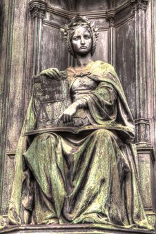 Free Statue Of Justice, HDR Royalty Free Stock Photo - 18552645