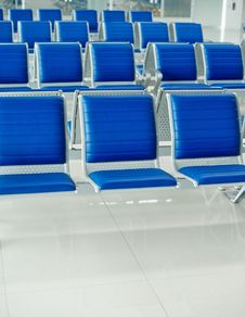 Free Airport Bench Stock Images - 18552684