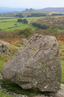 Free View Towards Hound Tor, Dartmoor Royalty Free Stock Photo - 18552735