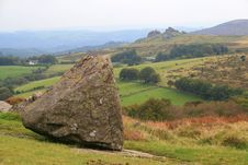 Free View Towards Hound Tor, Dartmoor Stock Image - 18552741
