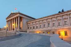 Free Austrian Parliament In Vienna Royalty Free Stock Photos - 18553528