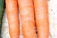 Free Carrots Royalty Free Stock Photography - 18553737